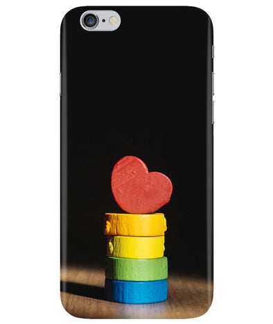 Heart Aim iPhONE 6PLUS Cover
