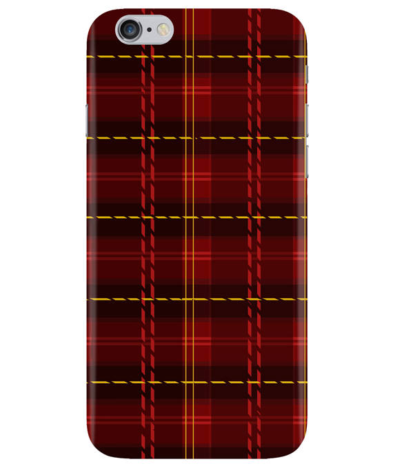 Check Fabric iPhONE 6PLUS Cover