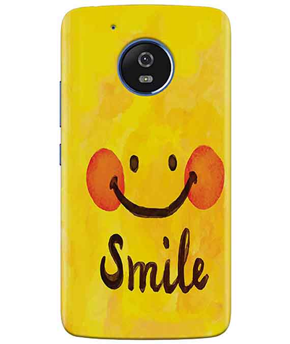 Smiley Mood moto G5 Cover