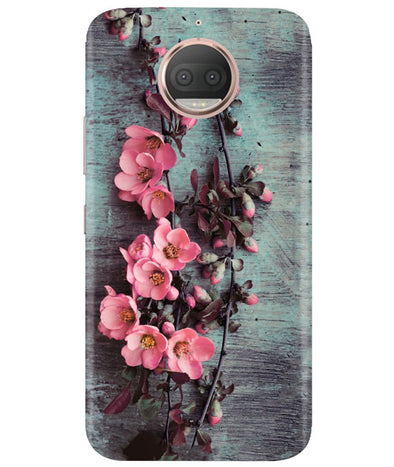 Pink Artistry Moto G5 Plus Cover