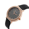 Black And Rose Gold Watch For Girls