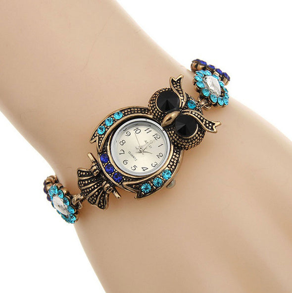 Blue Small Dial Women's Watch