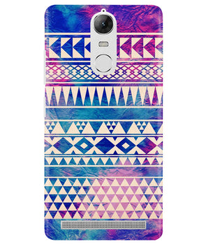 Pattern Lines Lenovo K5 Note Cover