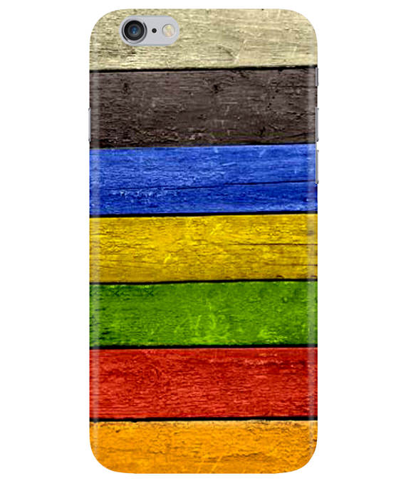 Coloured Wood iPhONE 6PLUS Cover