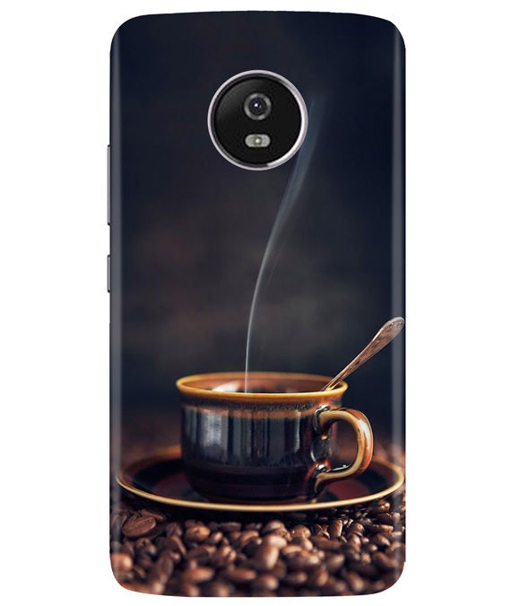 Coffee Brew Moto G5 Plus Cover