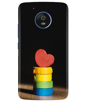 Heart Aim Moto G5 Cover
