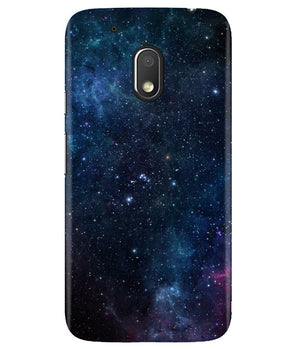 Deep in Galaxy Moto G4 Play Cover
