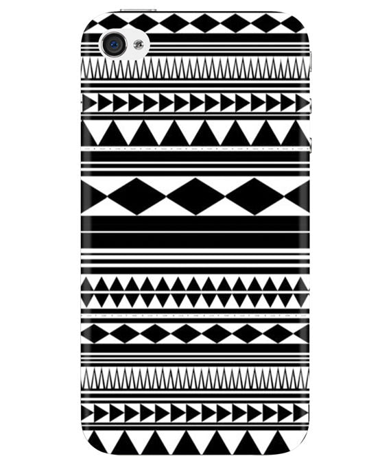 Just Black & White iPhONE 4 Cover
