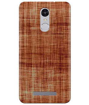 Cream-Brown Play Redmi Note 3 Cover
