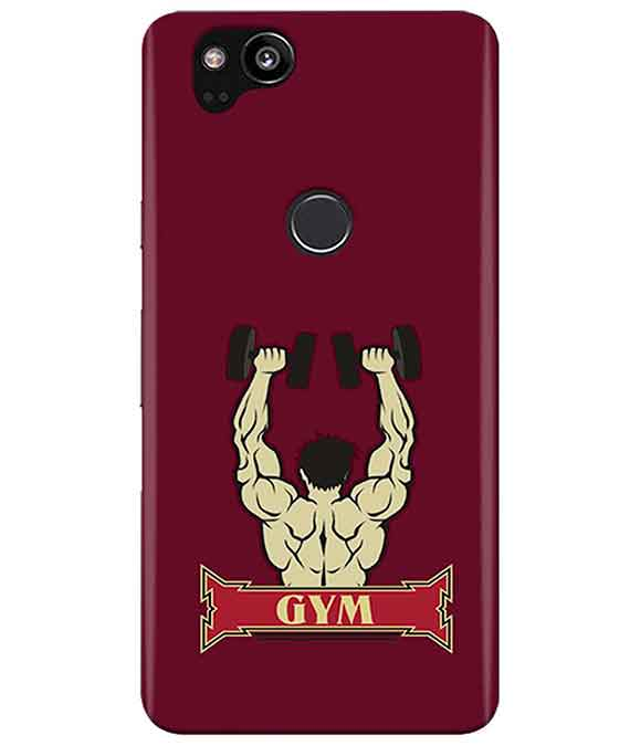 Gym Time Google Pixel 2 Cover