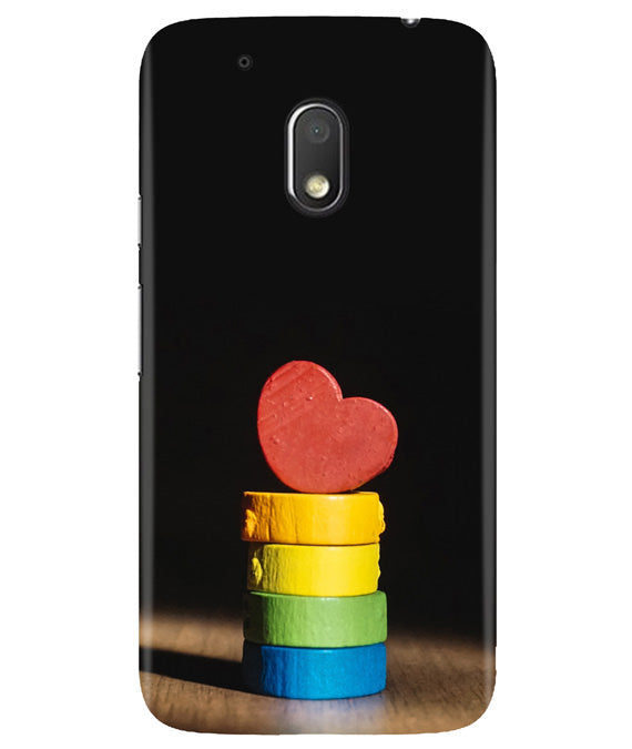 Heart Aim Moto G4 Play Cover