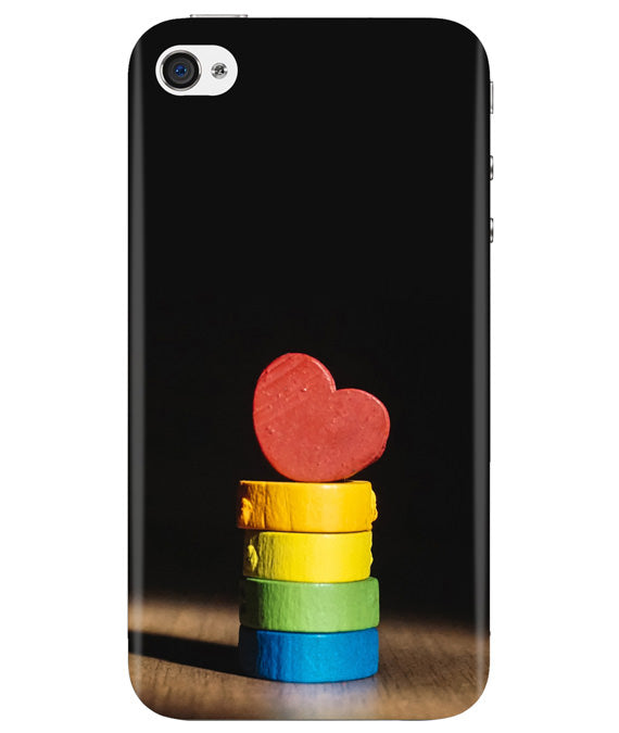 Heart Aim iPhONE 4 Cover