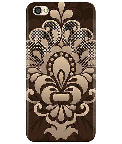Brown Damask Redmi Y1 Lite Cover