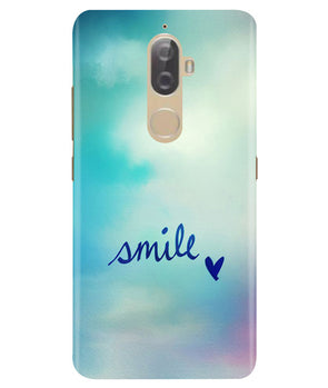 Just Smile Lenovo K8 Plus Cover