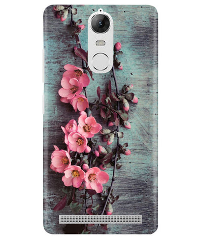 Pink Artistry Lenovo K5 Note Cover