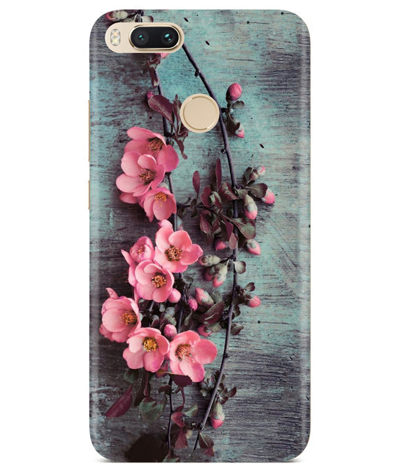 Pink Artistry Redmi A1 Cover