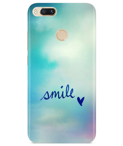 Just Smile Redmi A1 Cover