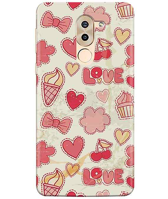 Girly Pink Honor 6XCover