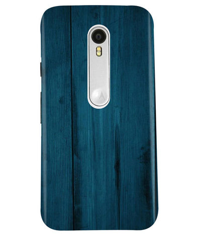 Emerald Green Woods Moto G3 Cover