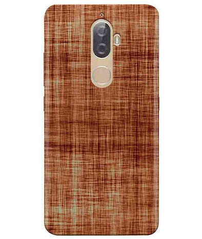 Cream-Brown Play Lenovo K8 Plus Cover