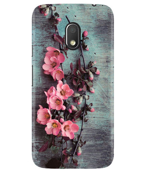 Pink Artistry Moto G4 Play Cover