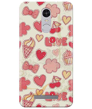 Girly Pink Redmi Note 3 Cover