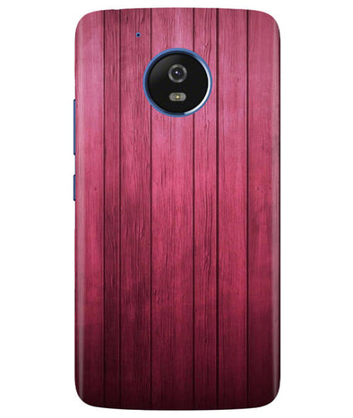Raspberry Wood Moto G5 Cover