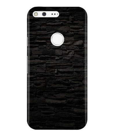 Black Stone Wall Google Pixel Cover