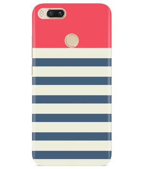 Cream Stripes Redmi A1 Cover