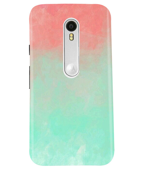 Hex Green Moto G3 Cover