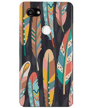 Colorful Feathers Google Pixel 2 XL Cover