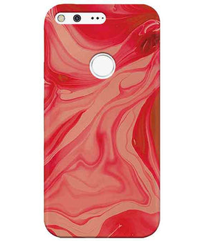 Liquify Red Marble Google PixelCover
