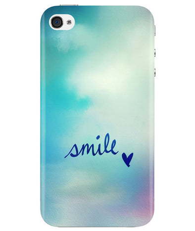 Just Smile iPhONE 4 Cover