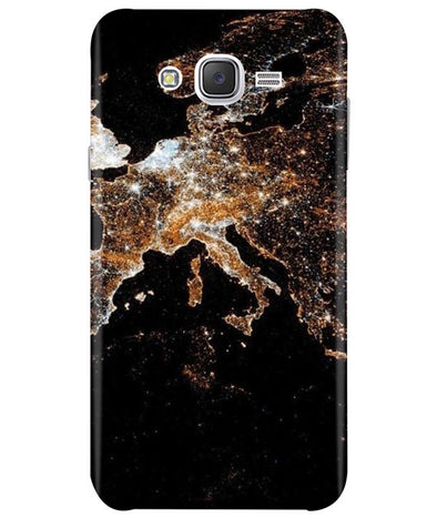 Mapped Samsung J7 2015 Cover