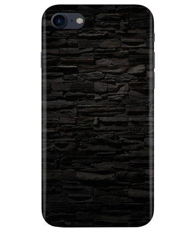 Black Stone Wall iPhONE 7 Cover