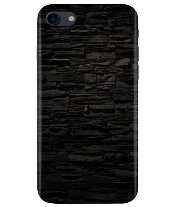Black Stone Wall iPhONE 8 Cover