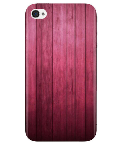Raspberry Wood iPhONE 4 Cover