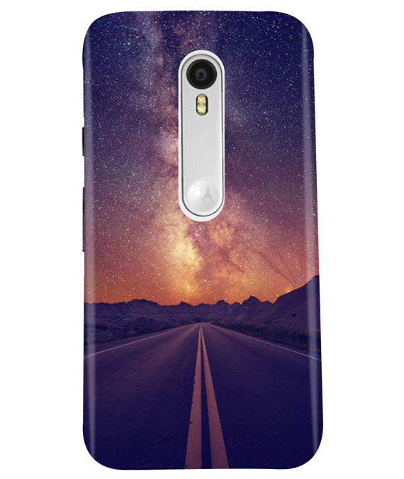 One Way Moto G3 Cover