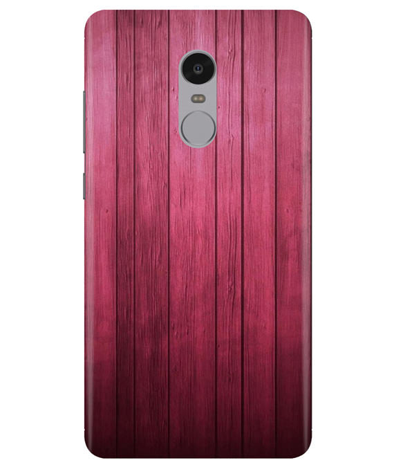 Raspberry Wood Redmi Note 4 Cover