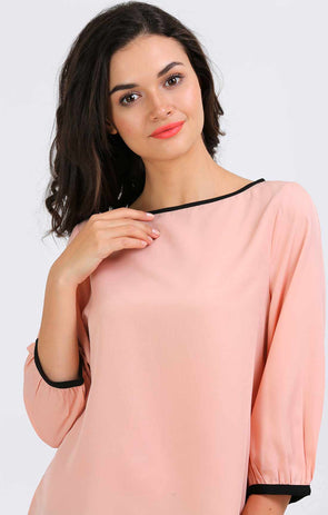 Peach Casual top
