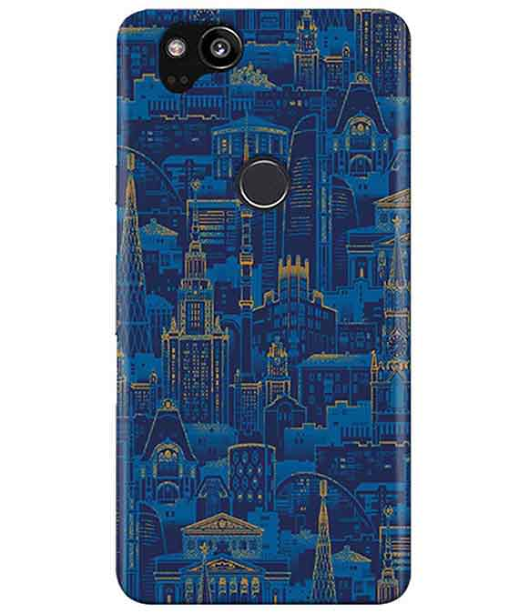 New York View Google Pixel 2 Cover