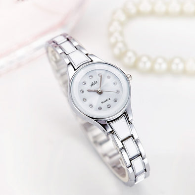 Ladies' Silver Metal Watch
