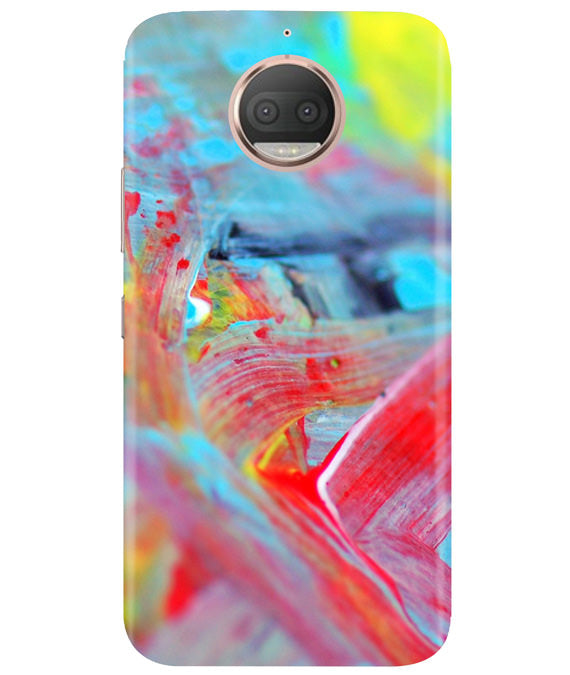 Canvas Strokes Moto G5 Plus Cover