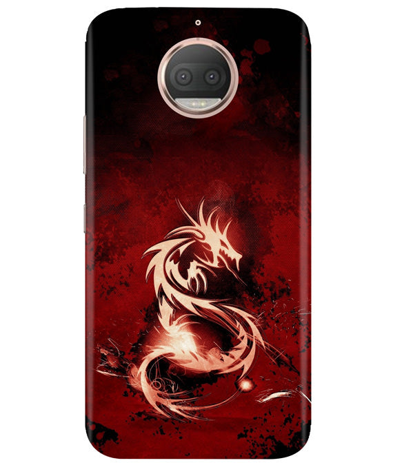 Red Chinese Dragon Moto G5 Plus Cover
