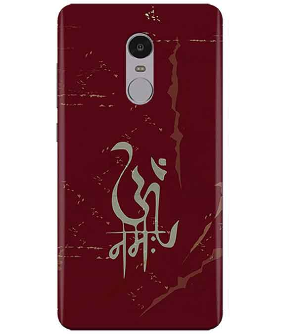 Om Namah Redmi Note  4 Cover