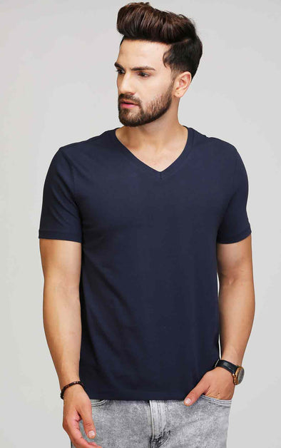 V Neck T Shirt For Men