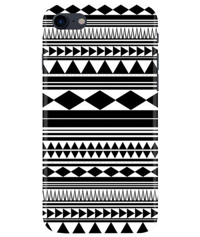 Just Black & White iPhONE 7 Cover