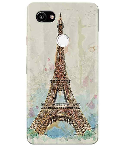Eiffel Tower Google Pixel 2 XL Cover