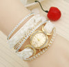 White Fashion Bracelet Watch For Girls