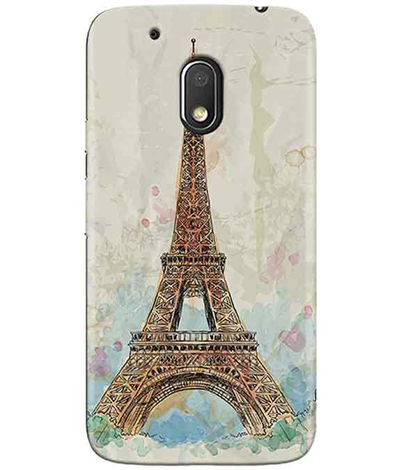 Eiffel Tower MOTO G4 PLAY Cover